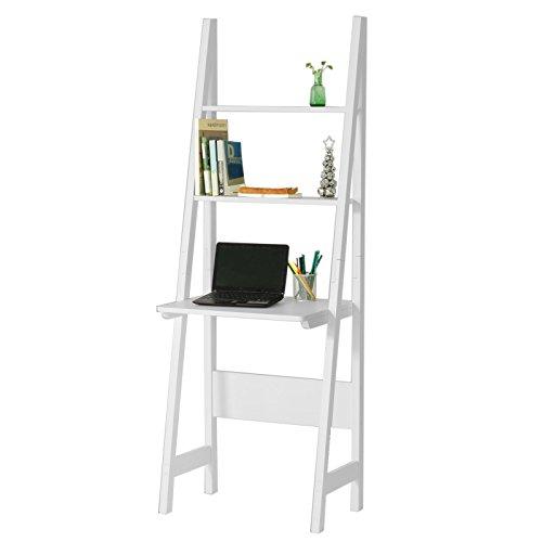 SoBuy® Mesa de ordenador con estante integrado