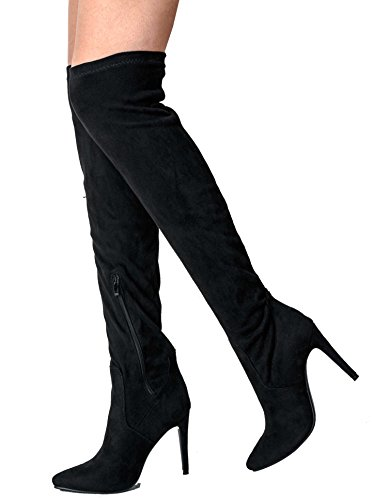 womens-pointed-pointy-stiletto-long-boots-high-boots-over-the-knee-boots-fitted-faux-suede-uk6-black