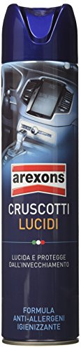 Arexons 8310 Bomboletta Spray Smash Cruscotti, Trasparente, 600 ml