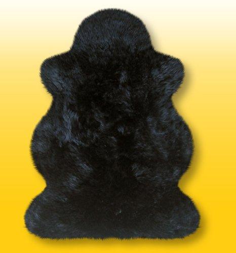 Heitmann Australische Lammfelle in schwarz Gr. Ca. 100 X 70 cm