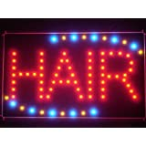 LAMPE NEON ENSEIGNE LUMINEUSE LED led006-r Hair Cut Salon OPEN LED Neon Light Sign