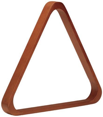 Pro Series TR8doweled Holz Billard Ball 8versenkt, Triangle Racks, TR8, Old World Mahogany -