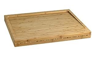 LURCH 10909 Bambus Schneidbrett, 50 x 40 x 4,5 cm
