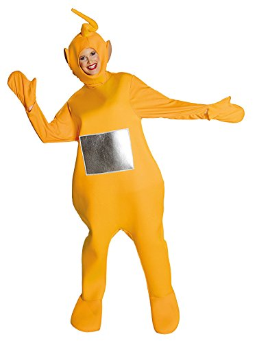 (Teletubbies Laa Laa Unisex Kostüm Lizenzware gelb silber M/L)