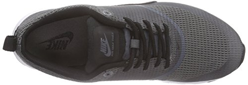 Nike Air Max Thea Textile Women, Baskets Basses Femme Gris (DARK GREY/BLACK-WHITE)