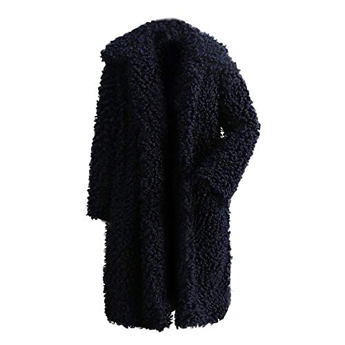 TianWlio Damen Mäntel Frauen Mantel Jacke Strickjacke Mantel Winter Warm Dicken Mantel Solid Mantel