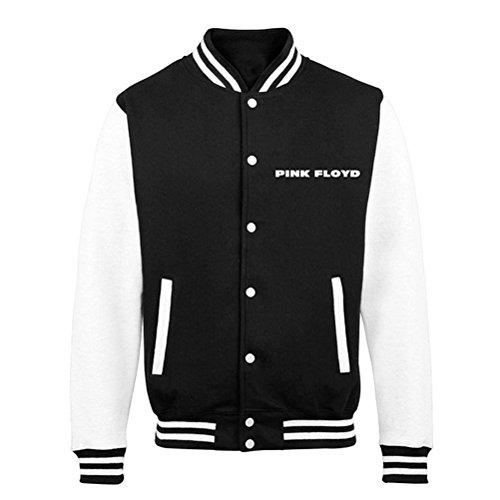 Lato ufficiale rosa Floyd Dark of the Moon Letterman Varsity Jacket - Unisex