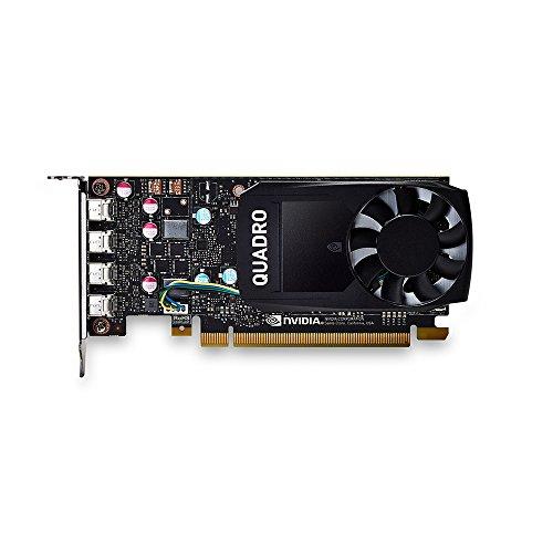 PNY VCQP600-PB Nvidia Quadro P600 Grafikkarte (2GB GDDR5)