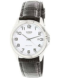 CASIO 19161 MTP-1183E-7B - Reloj Caballero cuarzo correa piel dial blanco