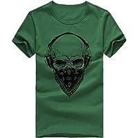 Beikoard_Camiseta Estampada Moda Hombre - Hombre máscara(M-3XL)❤ Limitado Promoción_Tops Camisetas Ropa Hombre Deportivas Sudaderas Chándales 2018 Ofertas