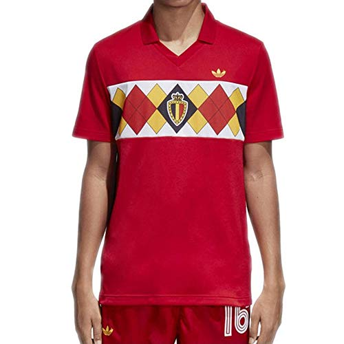 adidas Sport Herren Originals Belgien Trikot Rot CE2337 502435