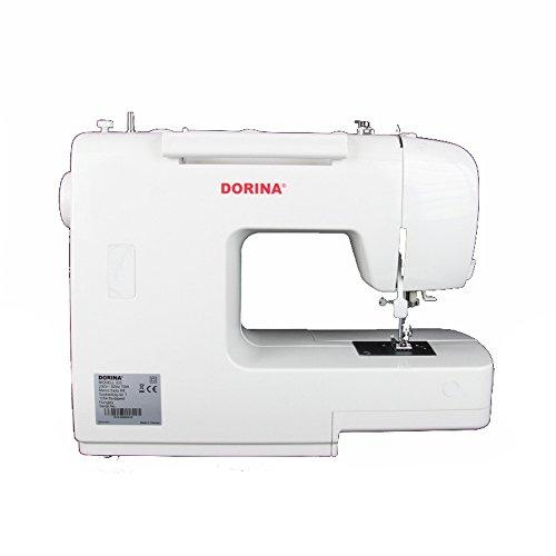 Dorina Nähmaschine 333 | Die perfekte Freiarm-Nähmaschine für DIY Begeisterte | 33 Nutz- und Zierstiche für jeden Stoff -
