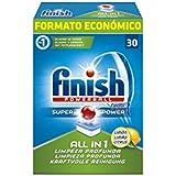 Finish Powerball Quantum max–Nettoyant Lave-Vaisselle–30pastilles–[Pack de 7]