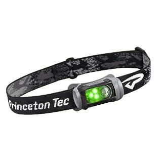 Princeton Tec Remix LED Headlamp (150 Lumens, Black w/Green LED's)