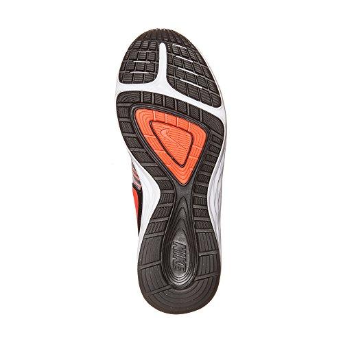Nike - Dual Fusion X GS Schwarz (Black/Bright Crimson/Grey/White)