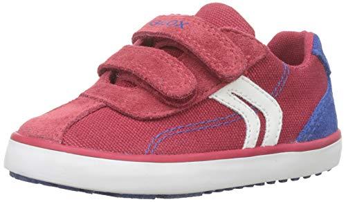 Geox B Kilwi Boy G, Zapatillas para Bebés, Rojo (Dk Red/Royal C0849),...