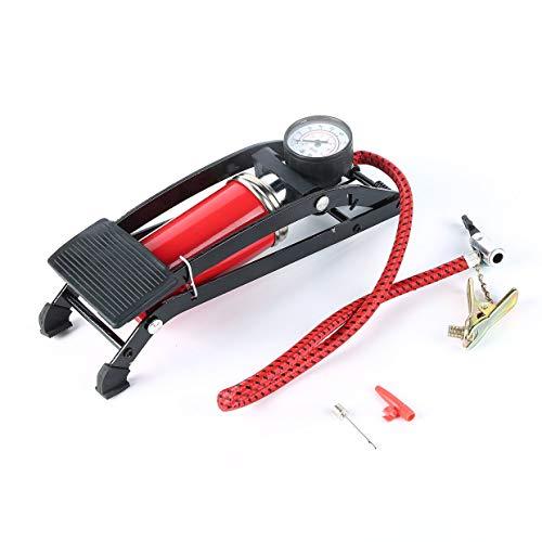 Pompe MXECO New Foot Air Pump Pompe gonfiabili per Biciclette Pneumatici per Aria Portatile per Auto e Biciclette