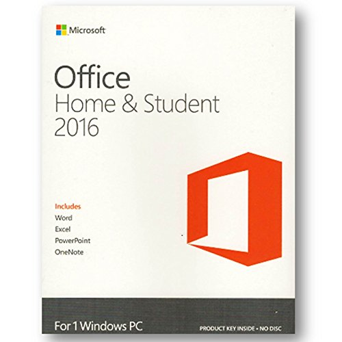 Preisvergleich Produktbild Microsoft Office Home & Student 2016 1 PC WIN ML PKC EFS inkl. Word,  Excel,  Powerpoint,  One,  Note