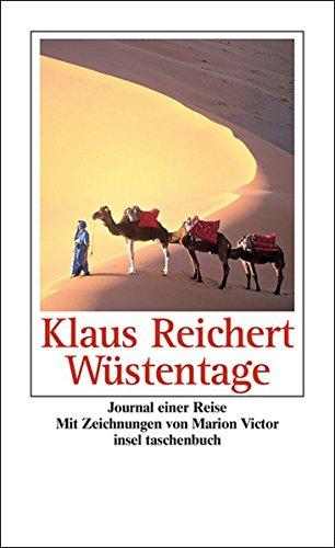 Wüstentage: Journal einer Reise (insel taschenbuch)
