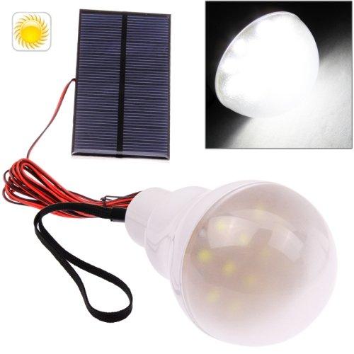 Mobile Superhelle 12 LED Solar Lmpe mit Akku zb für Camping ; Wohnwagen , Zelte ,Wohnungen ohne...