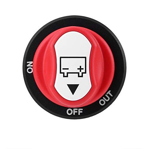 Staccabatteria - Max 50 V 50 A CONT 75 A INT Interruttore isolatore batteria auto acceso/spento for auto/fuoristrada/camio