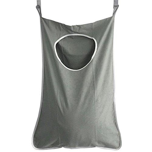 Hogar ropa sucia para colgar bolsa de puerta para ropa sucia bolsa de almacenamiento con ventosas para baño, armario