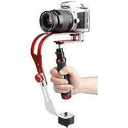 Docooler Estabilizador portátil de la leva del PDA aleación de aluminio Handheld Steadycam Vídeo Estabilizador para Cámaras Réflex Digitales, cámara de acción y deporte