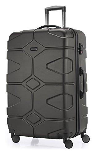 HAUPTSTADTKOFFER - X-Kölln - Hartschalen-Koffer Koffer Trolley Rollkoffer Reisekoffer, TSA, 76 cm, 120 Liter, Graphite matt