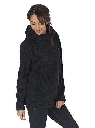 Burton Damen Lynx Pullover Fleece Hoodie True Black