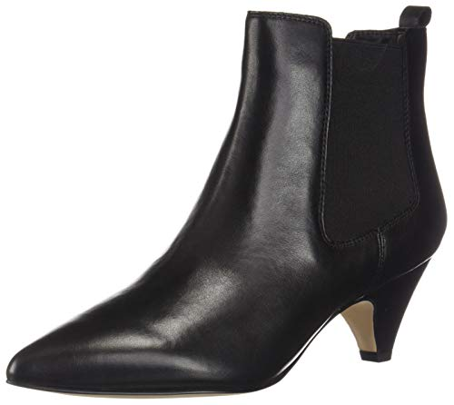 a0f9301e3 Sam Edelman Stivaletto Katt Black Leather Taglia 37