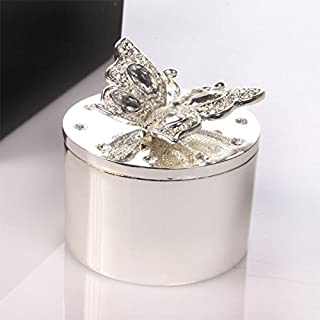 Engraved Butterfly Trinket Box - Personalise with any message