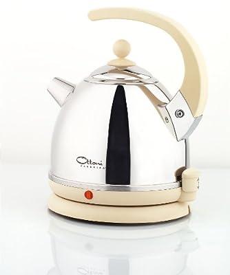 Ottoni Fabbrica Alice Bouilloire italienne Crème 2400 W 1,7 l