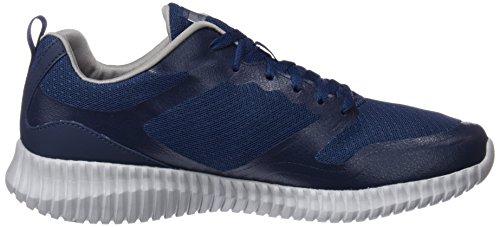 Skechers Herren Elite Flex Slip on Sneaker Blau (Navy/Grey)