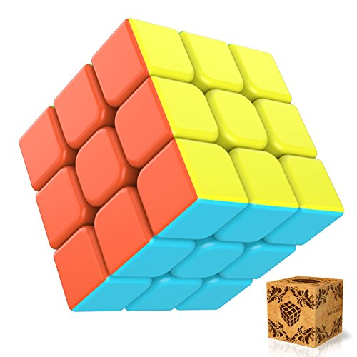 Zauberwürfel, Splaks Neue Version 3x3x3 magische Zauberwürfel Geschwindigkeit Würfel Speed Cube Magic Cube-Ohne Aufklebe