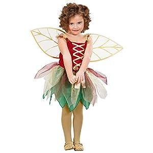 WIDMANN 12989 - Disfraz de hada para niños, multicolor, 110 cm/3 - 4 años