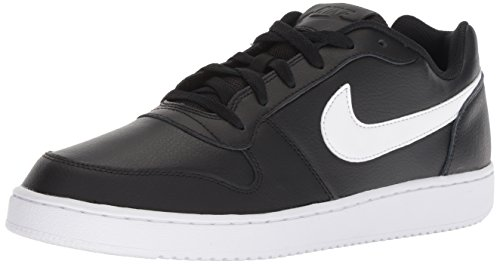 newest 2906e 10db9 Nike Men s Ebernon Low Fitness Shoes, Black (Black White 002), ...
