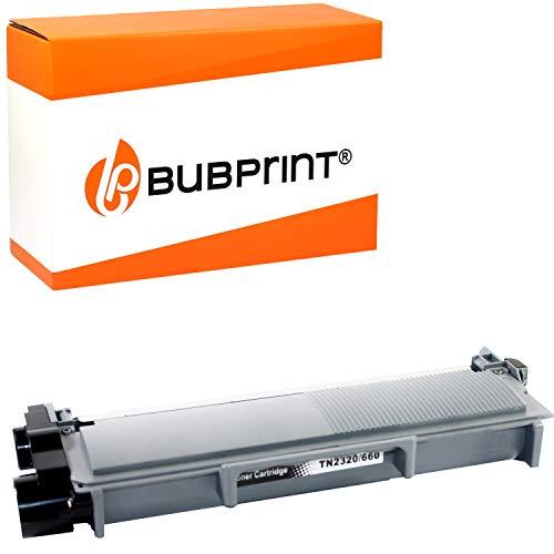Bubprint Toner kompatibel für Brother TN-2320 XXL TN-2310 für DCP-L2500D DCP-L2520DW HL-L2300D HL-L2340DW HL-L2360DN HL-L2365DW MFC-L2700DN MFC-L2700DW Schwarz