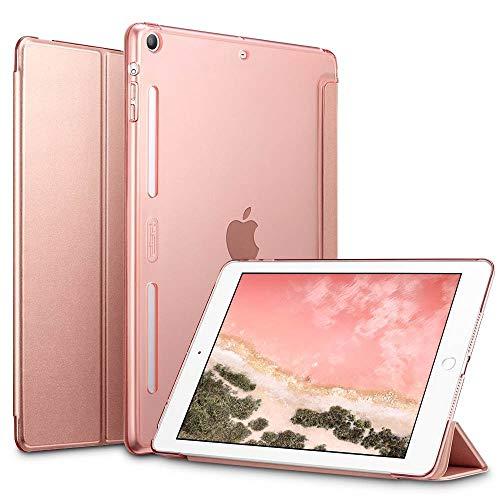 ESR Hülle kompatibel mit iPad Mini 1/2/3 - Smart Case mit Transparenter Rückseite, Lüftungsausschnitten & Auto Schlaf-/Aufwachfunktion - Schutzhülle für iPad Mini 7,9
