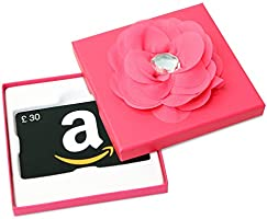 Amazon.co.uk Gift Card - In a Gift Box - £30 (Pink Flower)