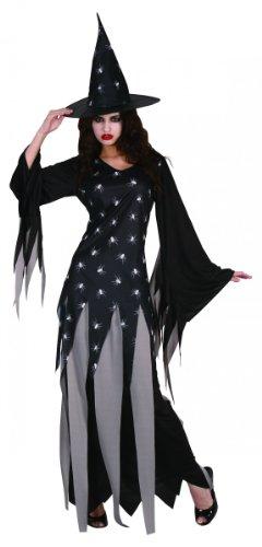 Generique - Hexen-Kostüm Damen Halloween Einheitsgröße (40)