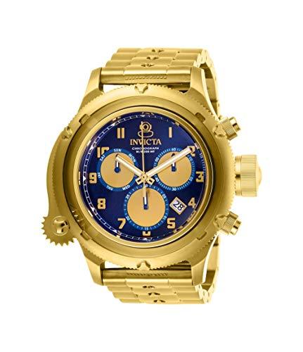 Invicta Men's Russian Diver Steel Bracelet & Case Swiss Quartz Watch 26464