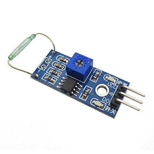 Dosige Reed Schalter Sensor Modul Magnetron Schalter Modul für Arduino