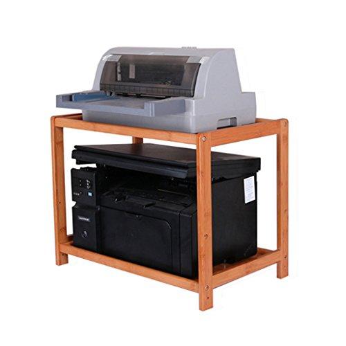 SUBBYE Lagerung Regale Bürobedarf Regale Drucker-Speicher-Rack Massivholz Office Desktop Aufbewahrungsbox 4 Größen Optional ( größe : 60cm*32cm*40cm )