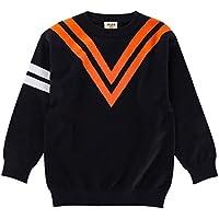 Yukeyy 1-6 Jahre Altes Kinder Mädchen Jungen Langarm Strickpullover Winter Sweater Pullis