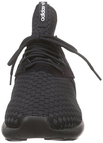 adidas Tubular Runner Unisex-Erwachsene Laufschuhe Schwarz (Core Black/Ftwr White/Silver Met.)