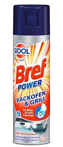 Bref Power Backofen- & Grillreiniger mit bewährter Sidol Qualität, 6er Pack (6 x 500 ml)