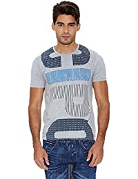 Cipo & Baxx Herren T-Shirt grey melange