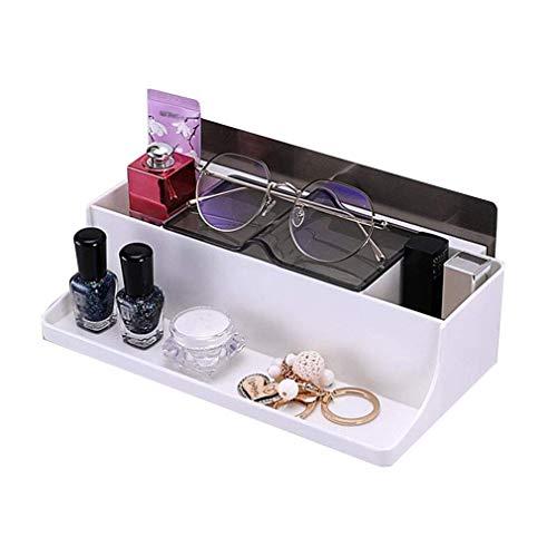Yuany Badezimmer Regal Schlafzimmer Aufbewahrungsbox Brillengestell Feuchtigkeitsbeständig Multifunktions Wandhalterung Toilette Studie