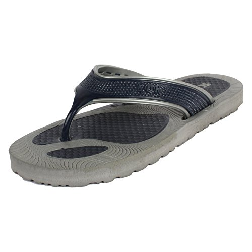 Bersache Men Canvas Flip-Flops & House Slippers (8 uk)  available at amazon for Rs.198
