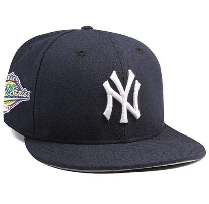 New York Yankees Mariano Rivera 1996 World Series Patch 59FIFTY Fitted Cap by New Era Size 6 7/8